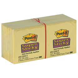 Post-it Super Sticky Products