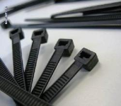 Black UV Stabled Cable Ties