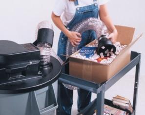 Flo-Vac III Loose Fill Vacuum