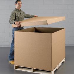 Bulk Cargo Boxes  Gaylord Boxes