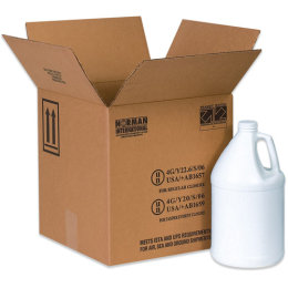 Haz Mat Plastic Jug Shipping Boxes