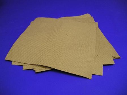 Indented Kraft Paper Sheets