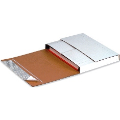 Self-Seal Corrugated Bookfolds