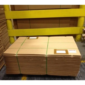 "V3c Corrugated Trimmed Sheets 35"" x 15"" Mil-spec ASTM D4727"