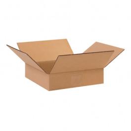 "10"" x 10"" x 2"" Flat  Corrugated  Boxes"