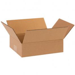 "10"" x 8"" x 3"" Flat Corrugated Boxes"