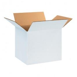 "12"" x 10"" x 10"" White  Corrugated  Boxes"