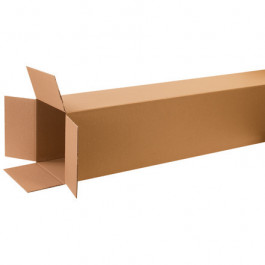 """12"""" x 12"""" x 60"""" Tall Corrugated Boxes"""