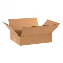 "12"" x 8"" x 3"" Flat  Corrugated  Boxes"