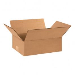 "12"" x 9"" x 4"" Flat  Corrugated  Boxes"