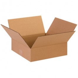 "13"" x 13"" x 4"" Flat Corrugated Boxes"