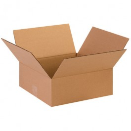 "13"" x 13"" x 5"" Flat Corrugated Boxes"