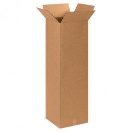 "15"" x 15"" x 48"" Tall Corrugated Boxes"