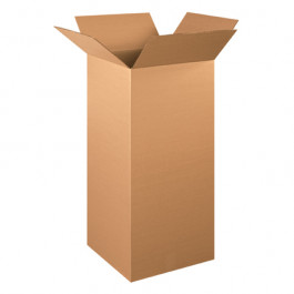 """15"""" x 15"""" x 36"""" Tall Corrugated Boxes"""