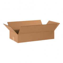 "20"" x 10"" x 4"" Flat Corrugated Boxes"