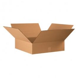 "22"" x 22"" x 6"" Flat Corrugated Boxes"