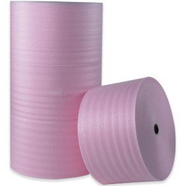 "1/4"" x 6"" x 250'(12)  Anti- Static  Air  Foam  Rolls"