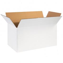 "24"" x 12"" x 12"" White  Corrugated  Boxes"