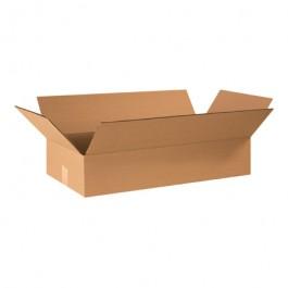 "24"" x 12"" x 4"" Flat Corrugated Boxes"
