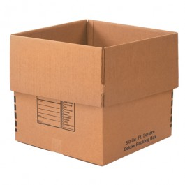 """24"""" x 24"""" x 24"""" Deluxe  Packing  Boxes"""