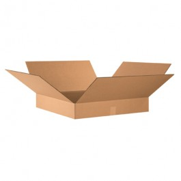 "24"" x 24"" x 4"" Flat Corrugated Boxes"