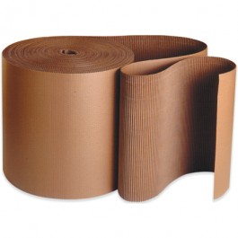 "6"" x 250' -  Singleface  Corrugated  Roll"