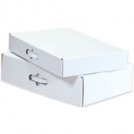 "18 1/4"" x 11 3/8"" x 2 11/16"" Corrugated  Carrying  Cases"