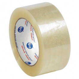 """2"""" x 110 yds.  Clear"""" Whisper  Smooth""""  Acrylic  Carton  Sealing  Tape"""