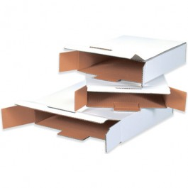"12 1/8"" x 11 5/8"" x 2 5/8"" Side Loading Locking Mailers"