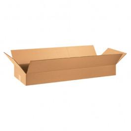 "36"" x 12"" x 4"" Flat  Corrugated  Boxes"
