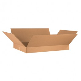 "36"" x 24"" x 4"" Flat Corrugated Boxes"