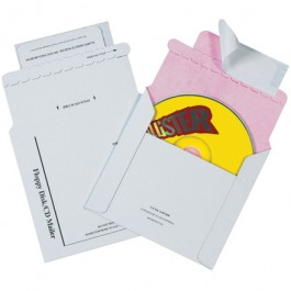 "5 1/8"" x 5"" Tyvek Lined CD Mailers"