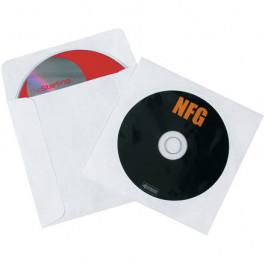 """4 7/8"""" x 5"""" Tyvek Windowed CD Sleeves"""