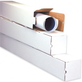 "3"" x 3"" x 30"" Square Mailing Tubes"