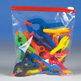 "8"" x 7"" - 2.7  Mil Minigrip  Slider  Grip  Reclosable  Poly  Bags"