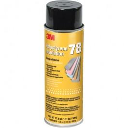 3M  Polystyrene  Foam  Insulation 78  Adhesive