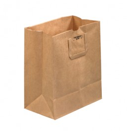 """12"""" x 7"""" x 14"""" Flat  Handle  Grocery  Bags"""