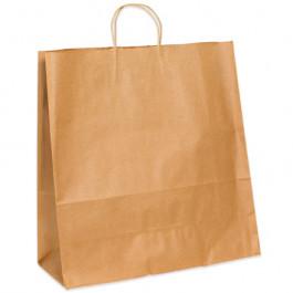 "13"" x 6"" x 15 3/4""  Kraft Paper  Shopping  Bags"
