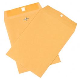 "7 1/2"" x 10 1/2""  Kraft Clasp  Envelopes"