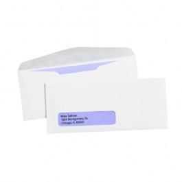 "4 1/8"" x 9 1/2"" - #10  Window Gummed  Business  Envelopes"