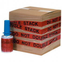 """5"""" x 80  Gauge x 500' """"DO NOT DOUBLE STACK"""" Goodwrappers®  Identi- Wrap"""