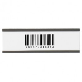 """2"""" x 6""""  Magnetic """"C""""  Channel  Cardholders"""