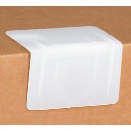 """3 1/2"""" x 2"""" -  White Plastic  Strap  Guards"""