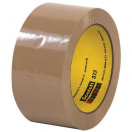 """2"""" x 55 yds.  Tan3M 372  Carton  Sealing  Tape"""