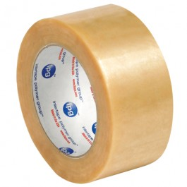 "2"" x 55 yds.  Clear2.2  Mil PVC  Natural  Rubber  Tape"