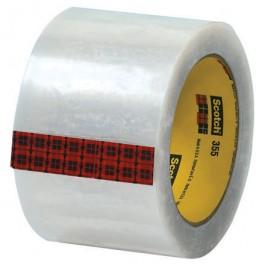 "3"" x 55 yds.  Clear (6  Pack)3M 355  Carton  Sealing  Tape"