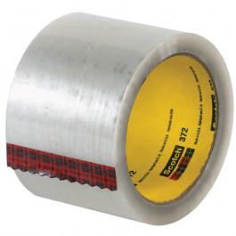 "3"" x 55 yds.  Clear3M 372  Carton  Sealing  Tape"