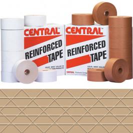 70mm x 375'  Kraft Central™ 233  Reinforced  Tape