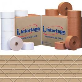 "3"" x 450'  Kraft Intertape™  Carton  Master  Reinforced  Tape"