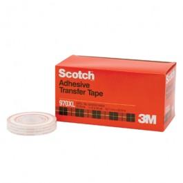 "1/2"" x 36 yds. (6  Pack)3M 970XL  Adhesive  Transfer  Tape -  Dispenser  Rolls"